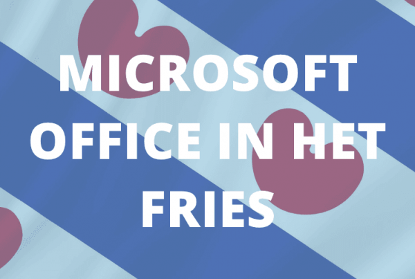 Microsoft Office in het Fries
