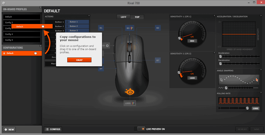 Steelseries Engine 3 software