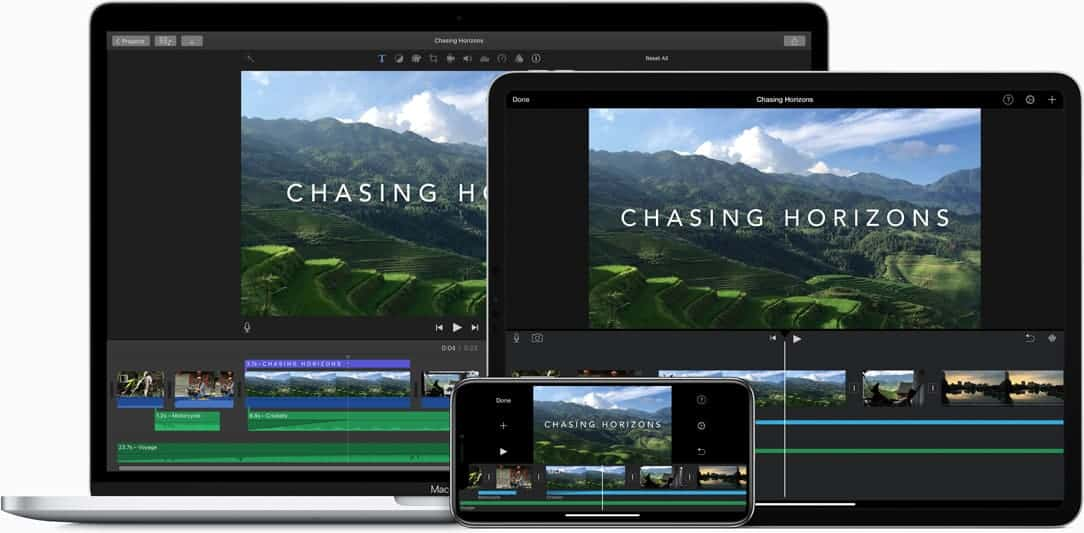 Gratis videobewerking op apple devices met iMovie