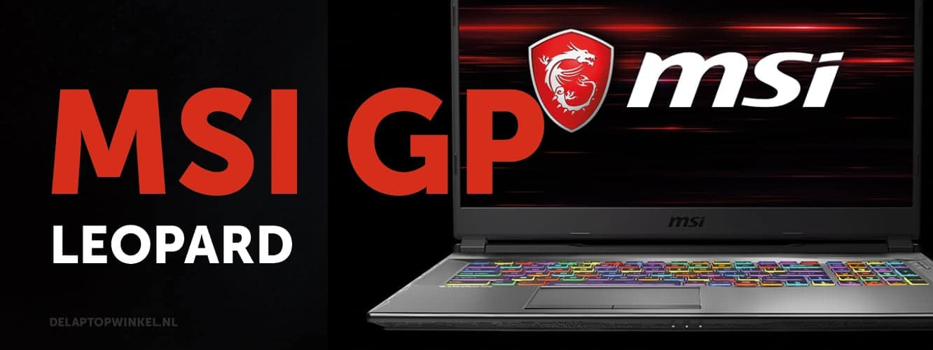 MSI GP (leopard) gaming laptop aanbiedingen