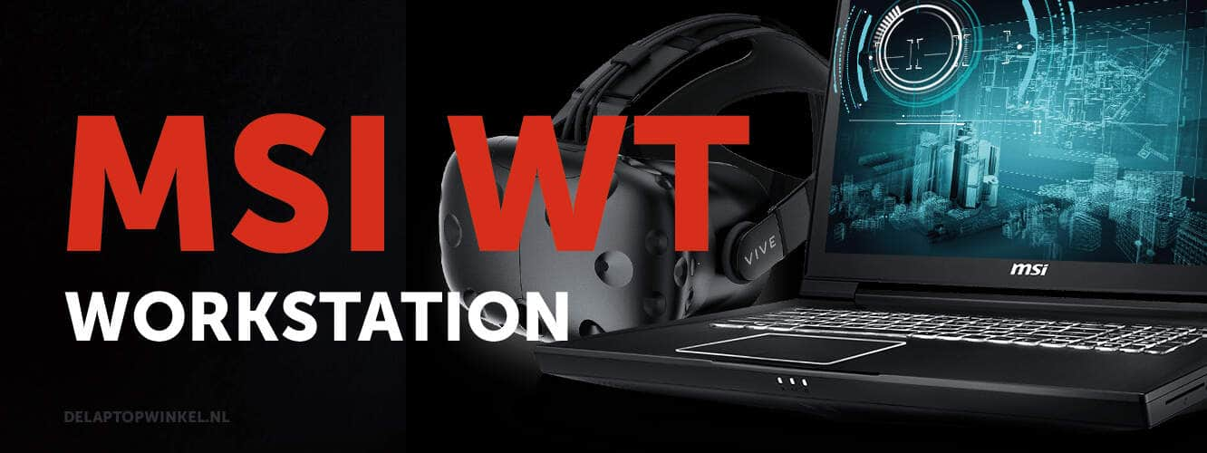 msi wt laptops - workstation