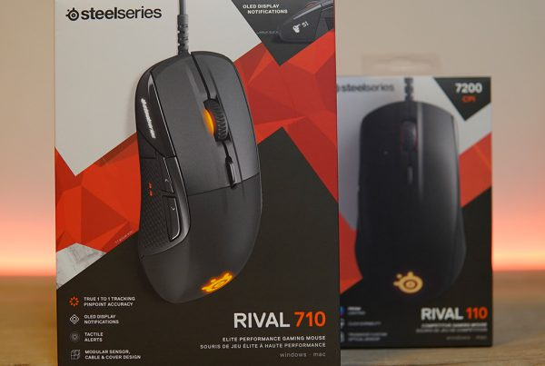 Steelseries Rival 710 unboxing