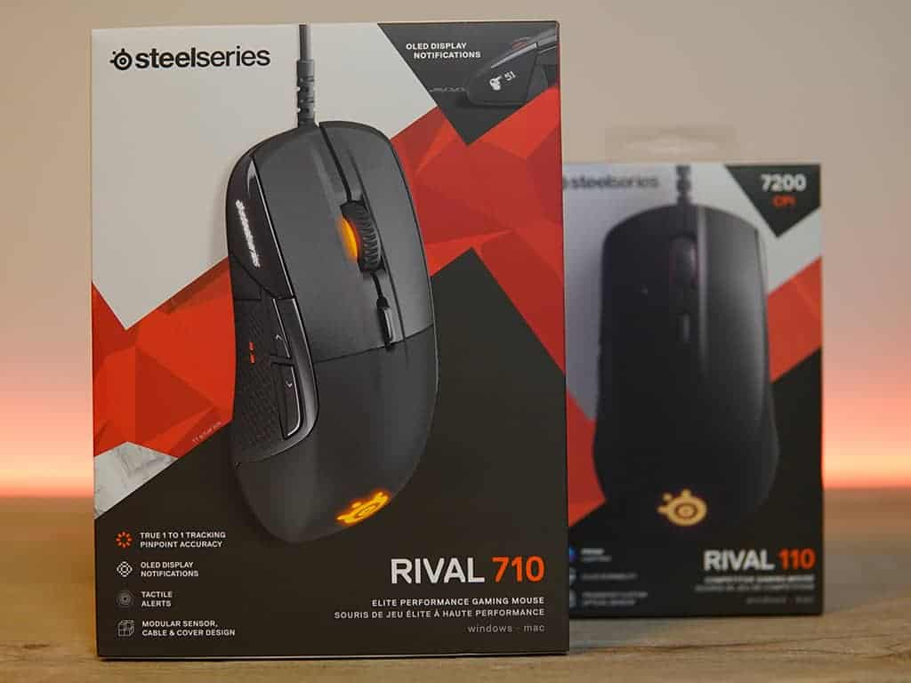 Rival 710 unboxing