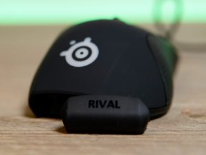Unboxing the rival 710 - nameplate