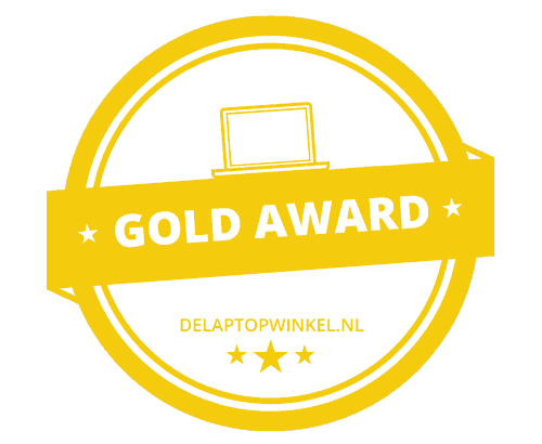 Delaptopwinkel Gold Award